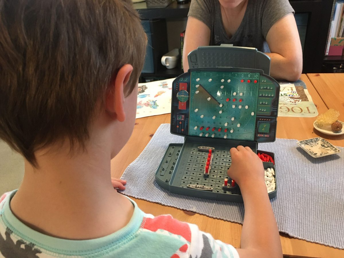 Battleship Teaches Strategy, Sportsmanship, and Basic Coordinates