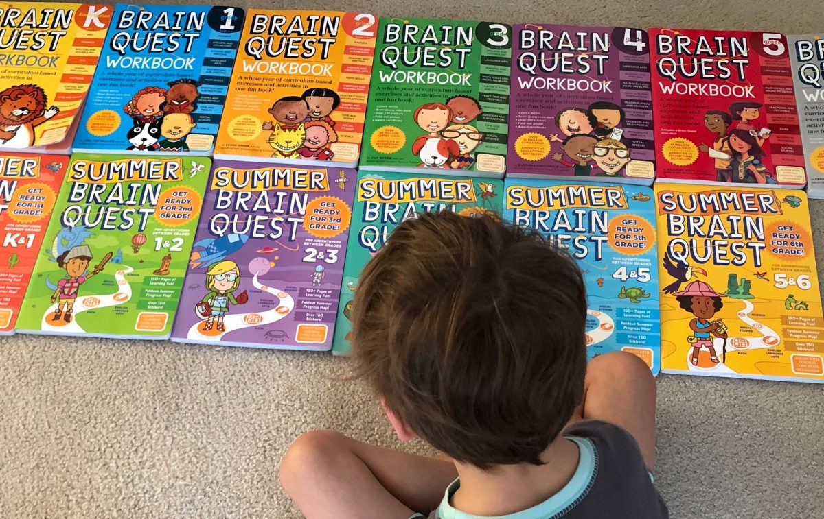 Brain Quest Workbooks Make Great Supplements