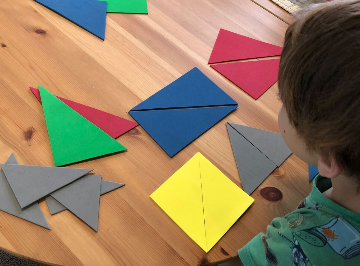 Tactile Triangle Fun